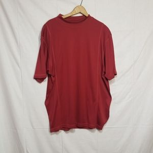 Adidas clima cool red  shirt Large